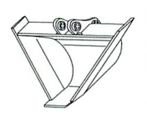 三角バケット