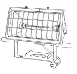 ハロゲンライト 1KW(500W)
